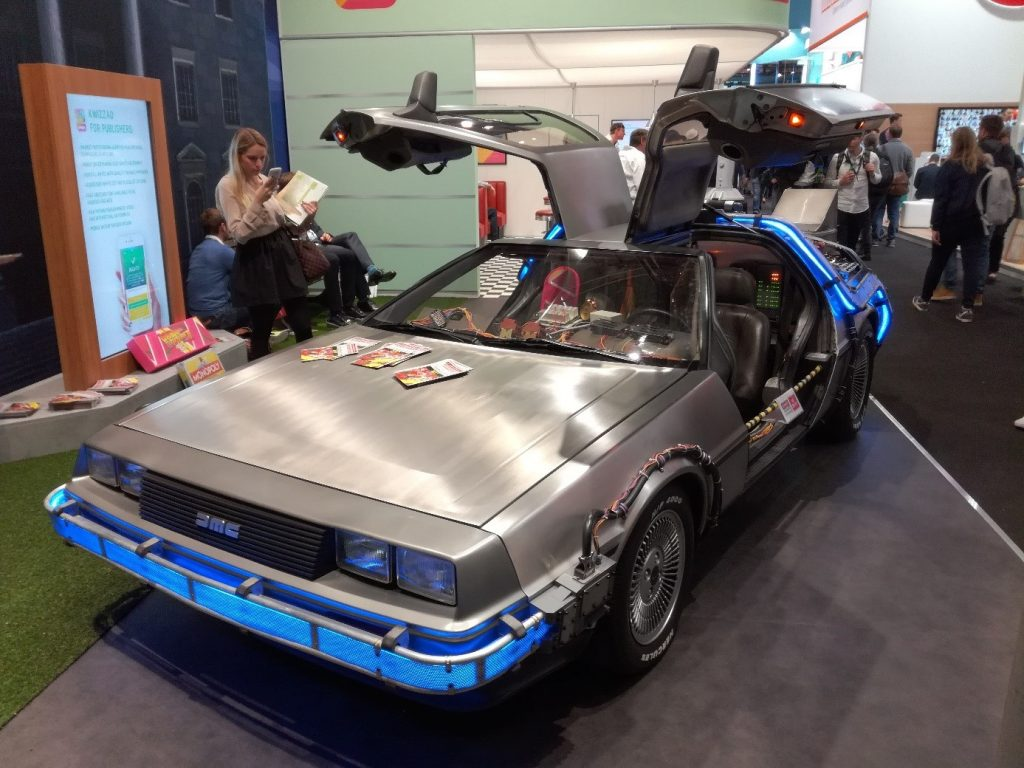 Der DeLorean: Eine freundliche Leihgabe von Marty McFly