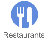 Google Places Restaurant Button