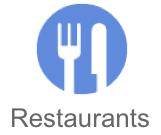 Google Places Restaurant Button