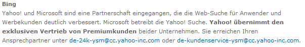 Bing Beschreibung