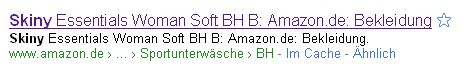 amazon-brotkrumennavigation