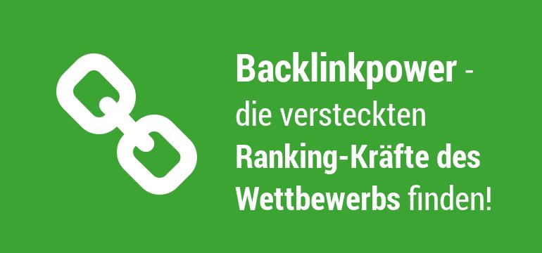 Backlinks des Wettbewerbs