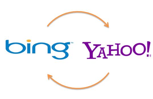 bing & Yahoo Logo