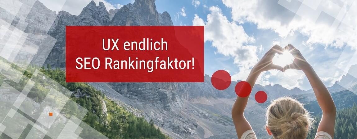 User Experience wird SEO Rankingfaktor