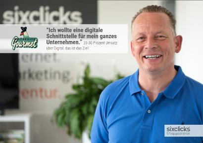 Volker Stoldt von Fischfritz - 20 bis 30 Prozent Umsatz über Digital, das ist das Ziel
