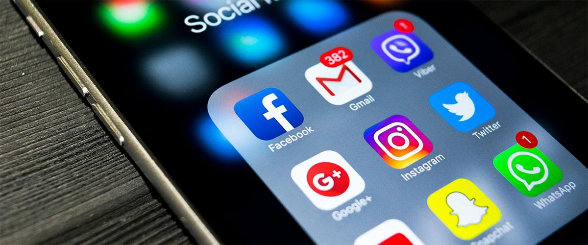 Benachrichtigungen von Social Media Posts auf dem Handy