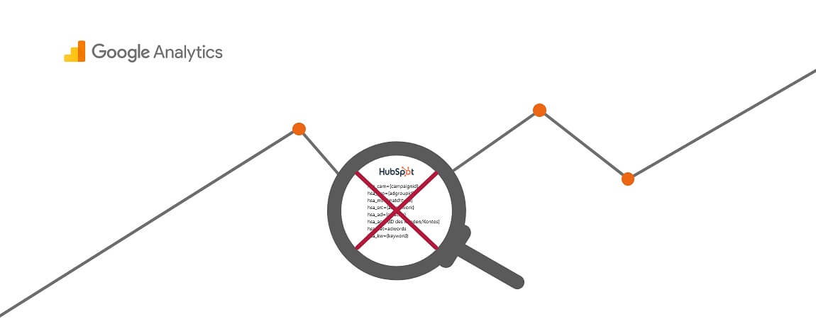 HubSpot Ads Parameter in Google Analytics entfernen