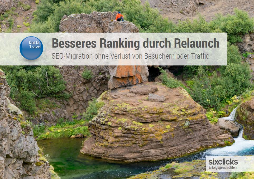 Katla Travel Erfolgsgeschichte - Besseres Ranking durch Website Relaunch