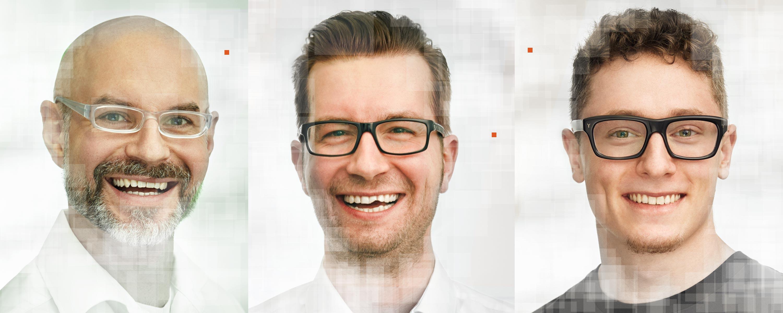 Asnprechpartner der sixclicks GmbH Sascha, Stefan und Christian