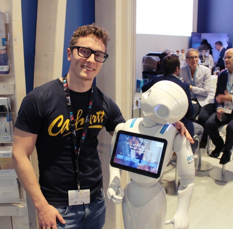 Künstliche Intelligenz auf der DMEXCO 2017 mit L.I.S.A