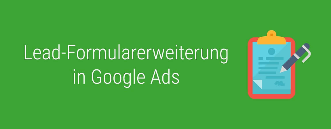 Google Ads Lead Form Extension