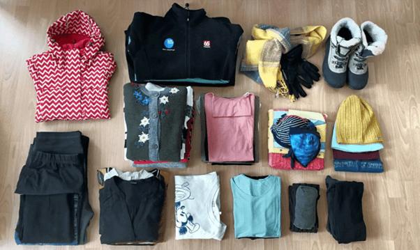Kleidung für eine Islandreise im Winter