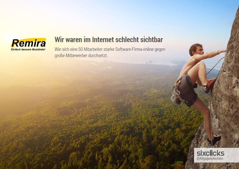 Remira Success Story Cover - Wir waren im Internet schlecht sichtbar