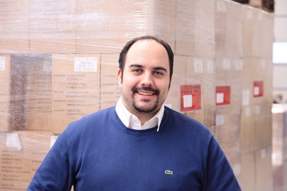 Sascha Vogel Geschäftsführer bei Vogel Verpackungen in Köln