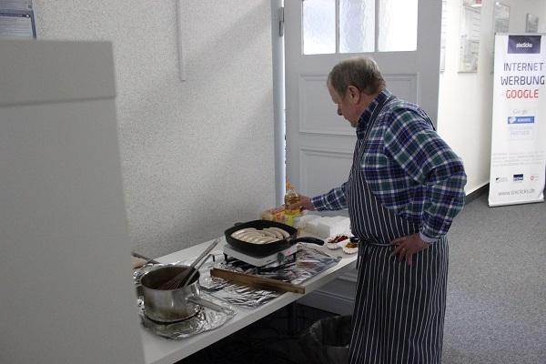 Currywurst von Heinrich Wächter beim sixclicks Impulsvortrag