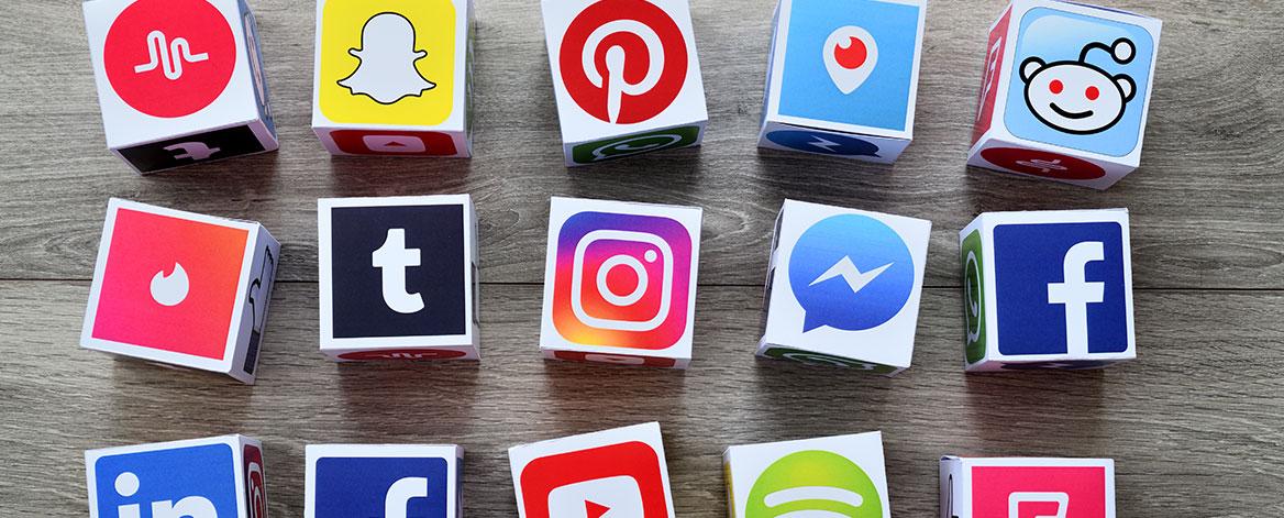 Social Media Kanäle in der Übersicht