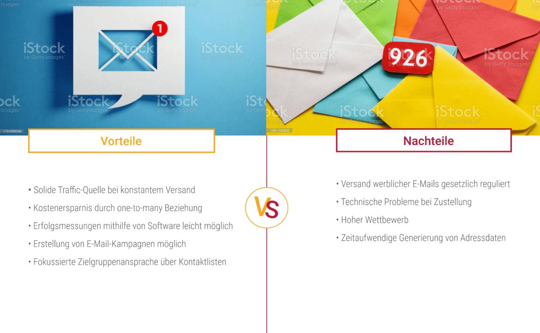 Das sind Vorteile und Nachteile von E-Mail-Marketing